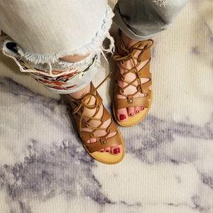 Indigo rd. Lace up sandals